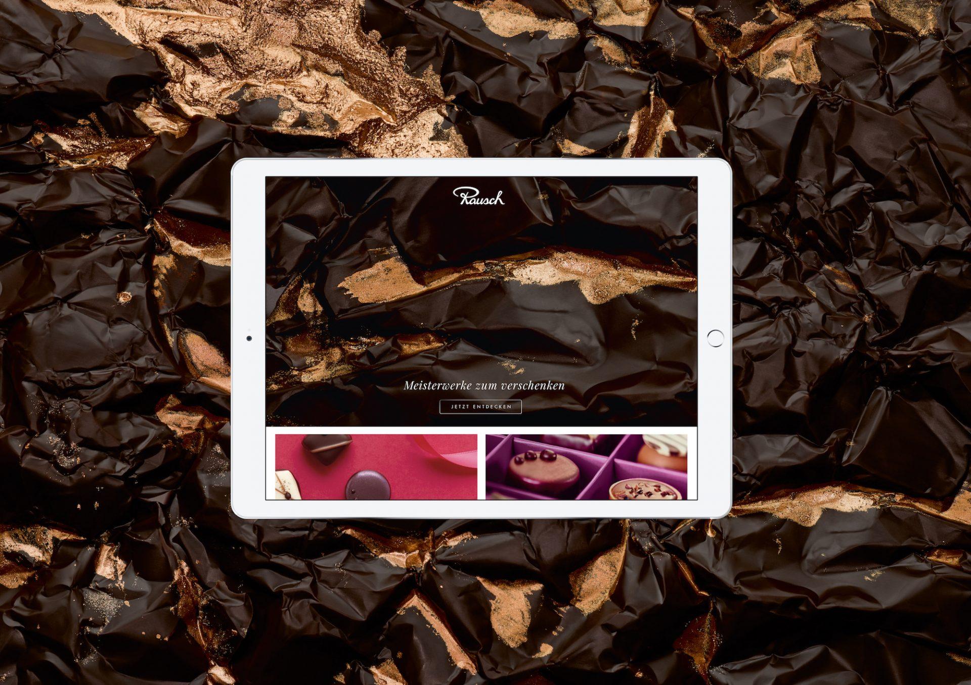 Meisterwerke zum Verschenken. Die neue Website erzählt von der traditionsreichen Geschichte des Berliner Schokoladenherstellers.