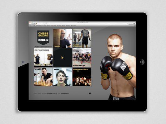 Chess Boxing Berlin Website