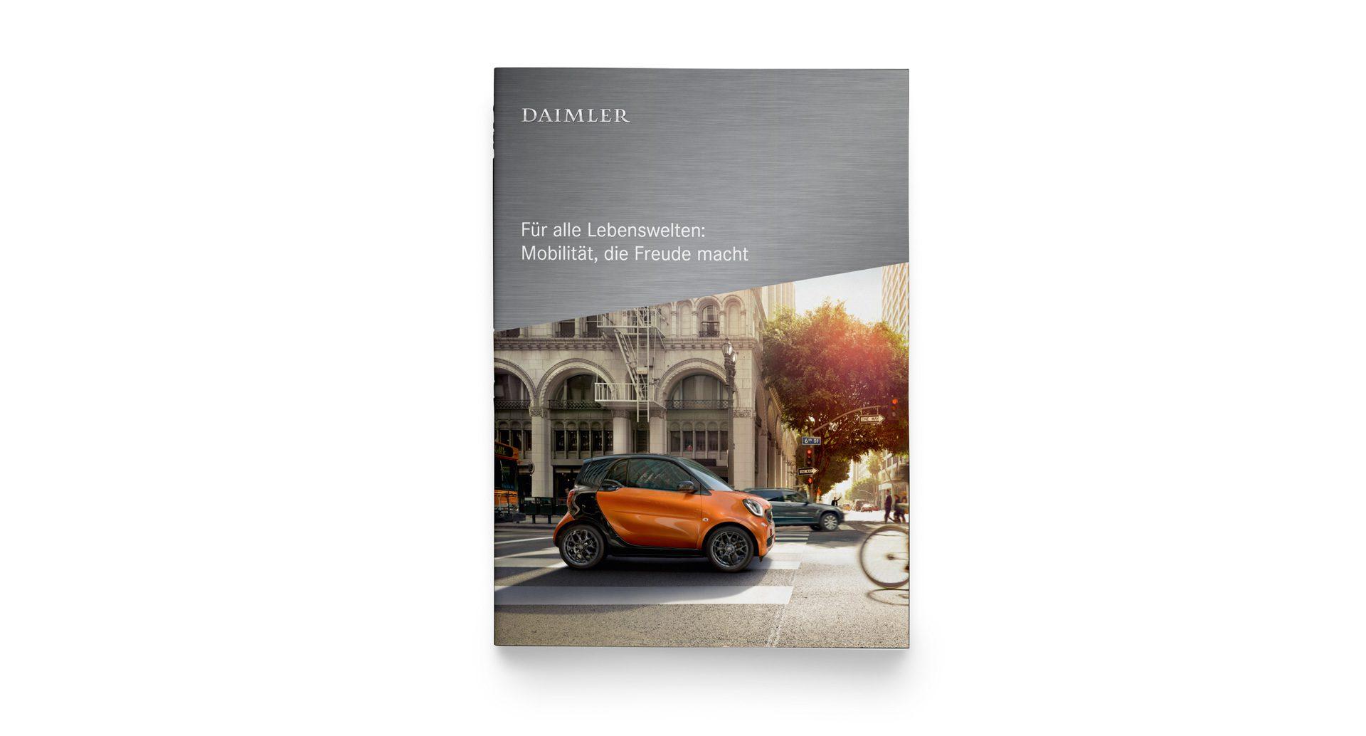 Daimler Corporate Design Cover