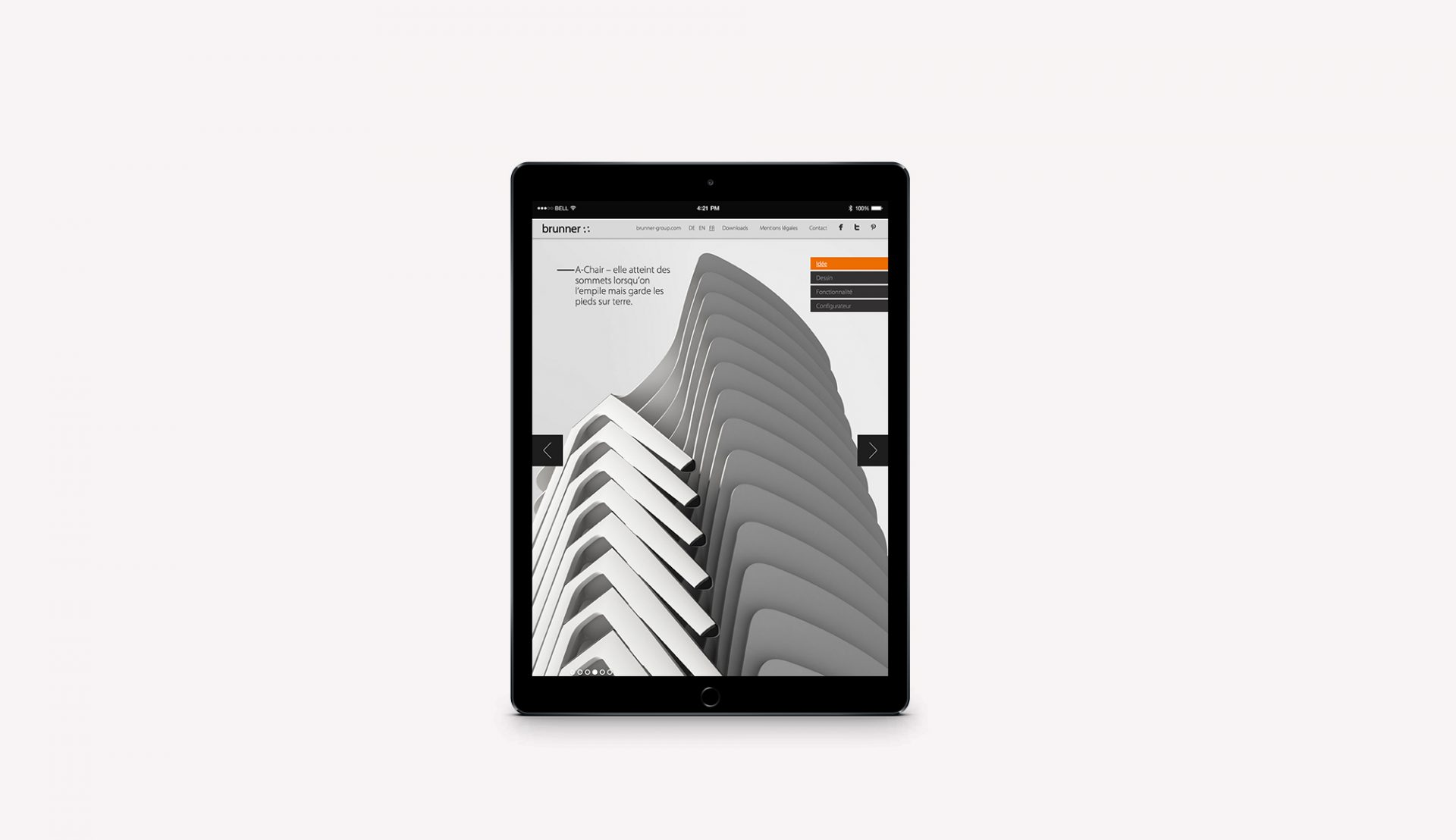 Brunner Sales Communication Microsite