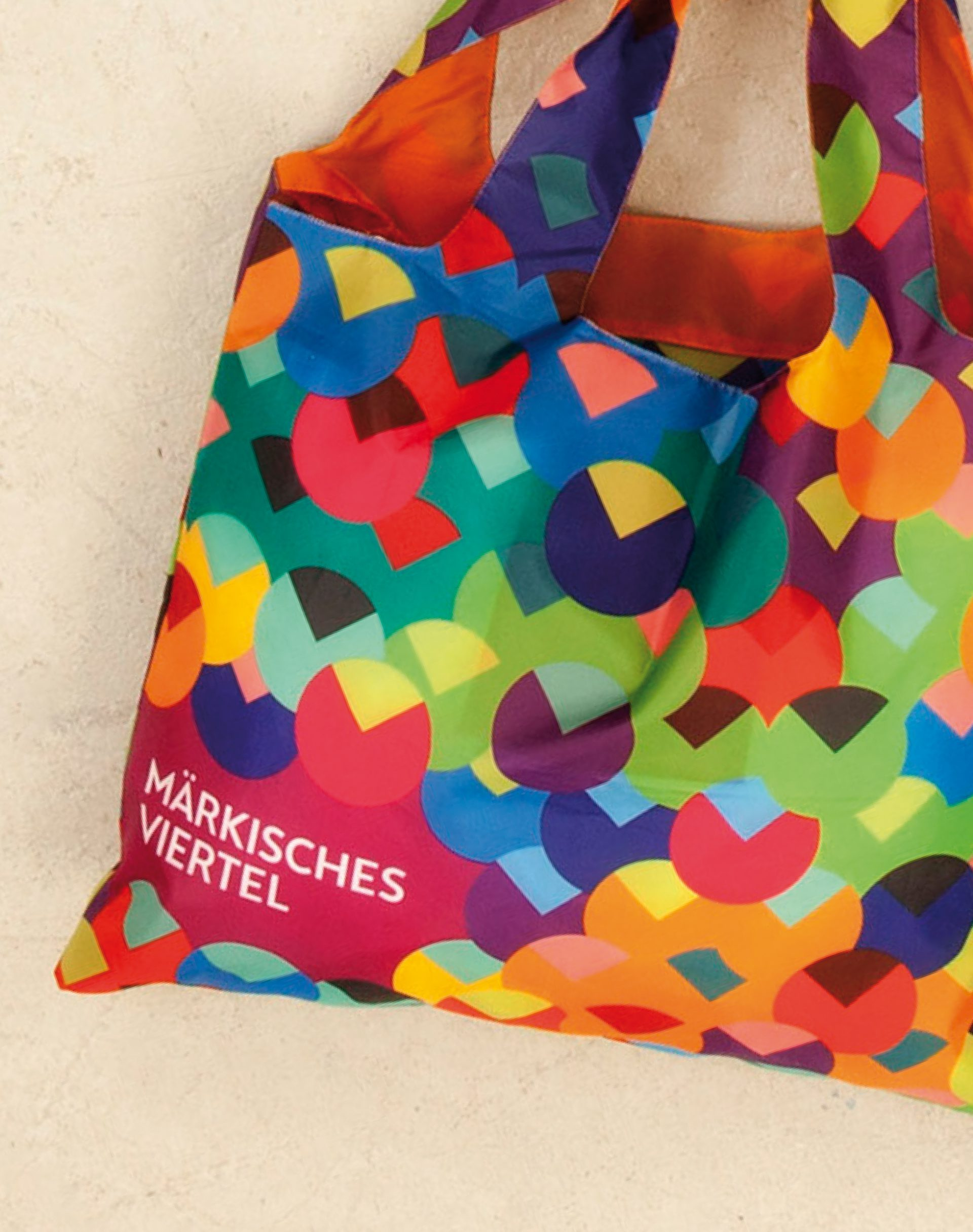 Märkisches Viertel Corporate Design Tasche