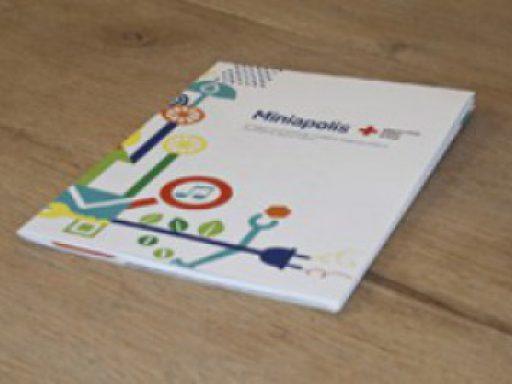 Diie Broschüre für die ThyssenKrupp Kita Miniapolis