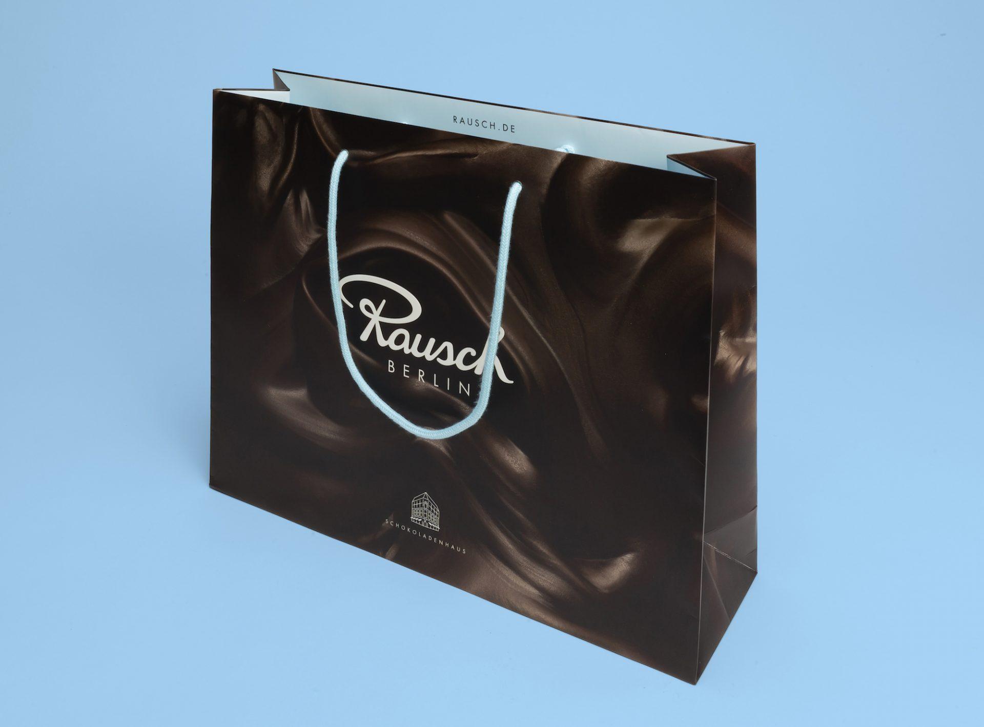 Rausch Package Design Tragetasche