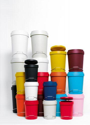 Authentics Brand Design Fotoshooting Mülleimer