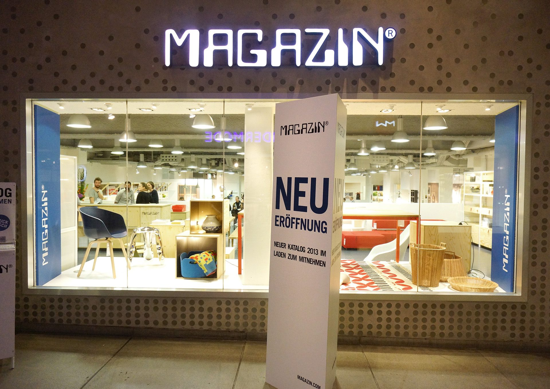 Magazin Multichannel Communication Fotoshooting