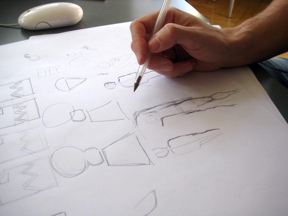 BER Piktogramme Entwurfsphase