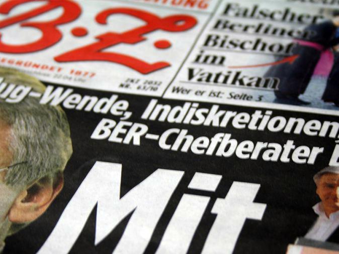 Berichterstattung BER in der Berliner Zeitung