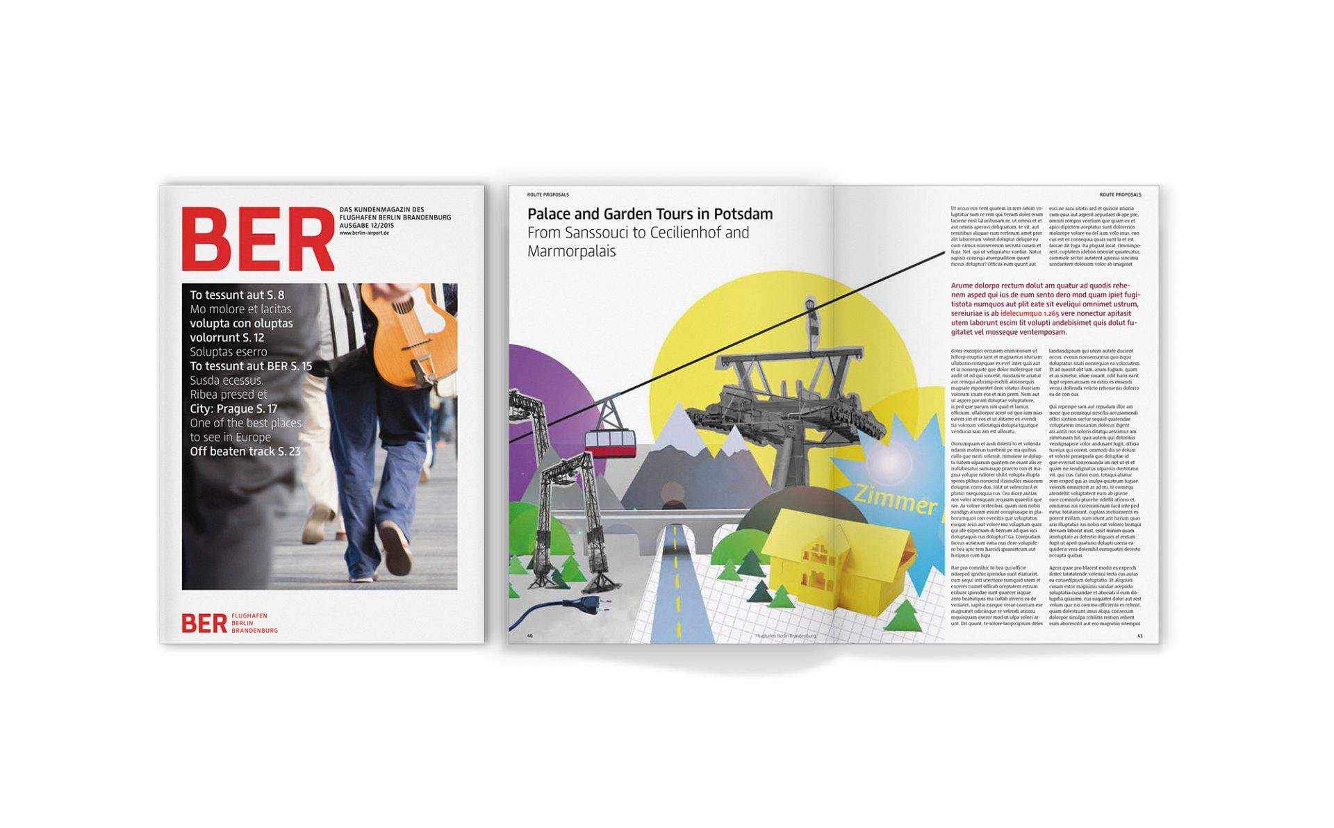 BER Corporate Design Magazin 3
