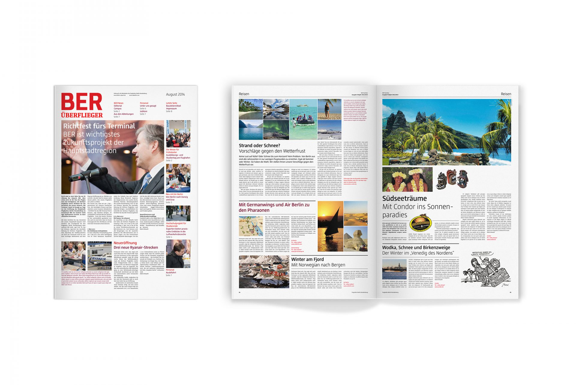 BER Corporate Design Magazin 2