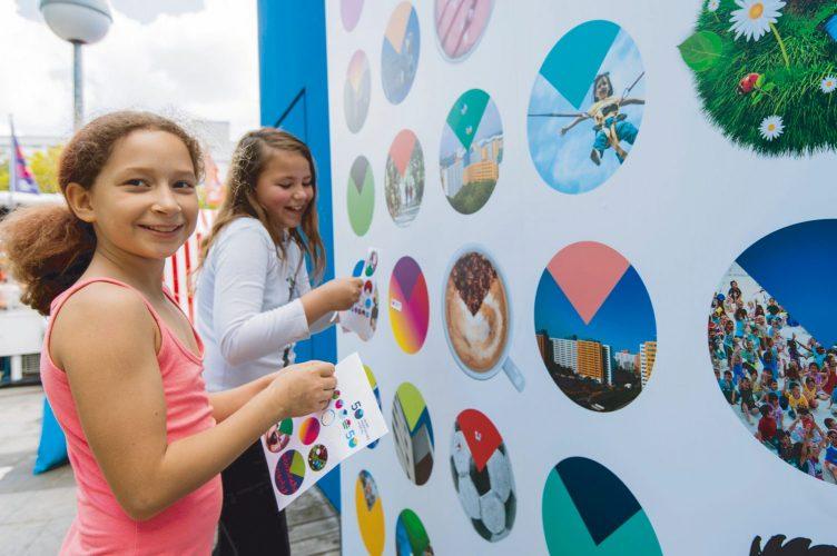 Märkisches Viertel Corporate Design Kinder gestalten ihr Logo