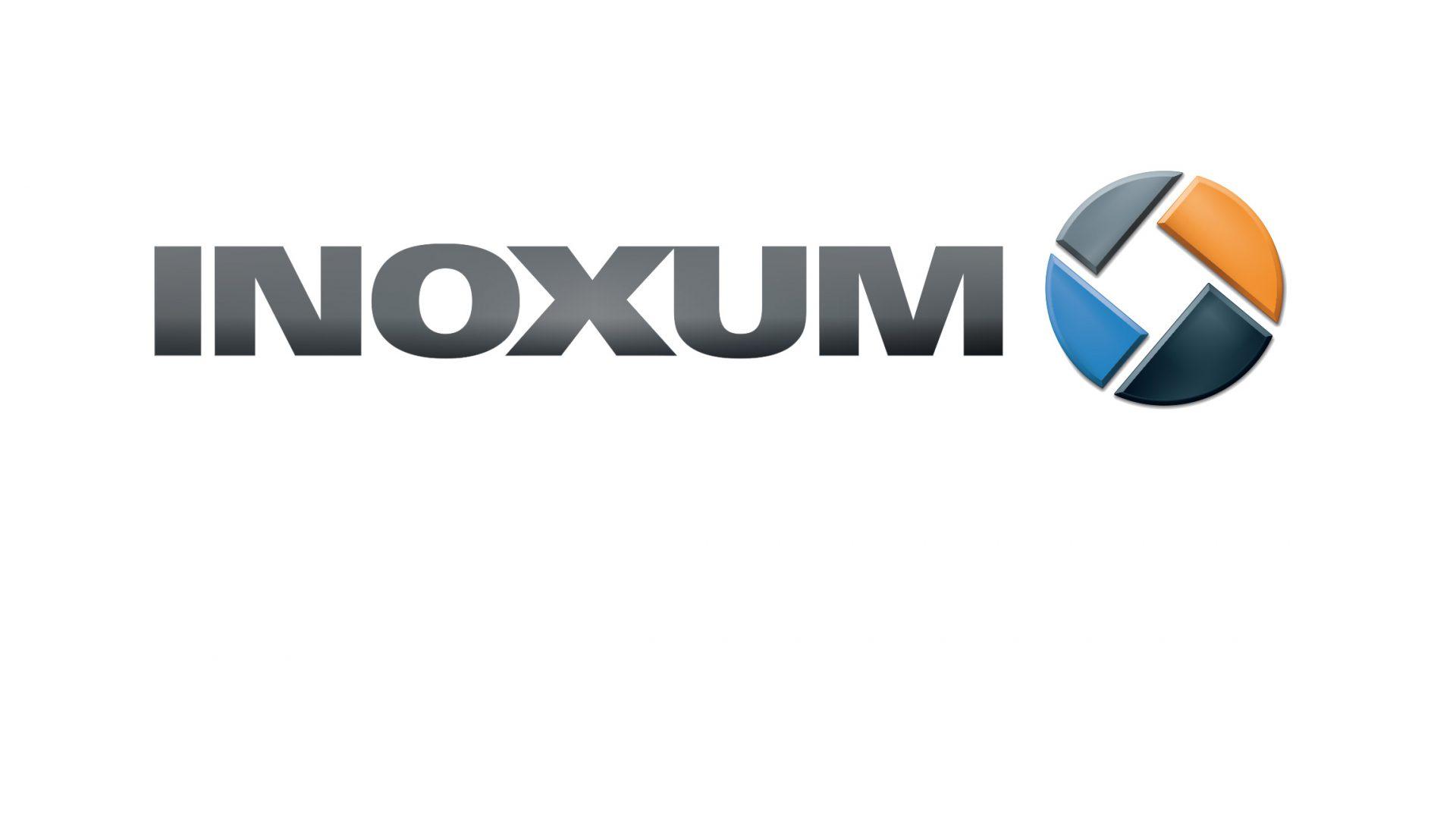Logo von Inoxum, der ehemaligen Edelstahlsparte von ThyssenKrupp. Corporate Design: Realgestalt