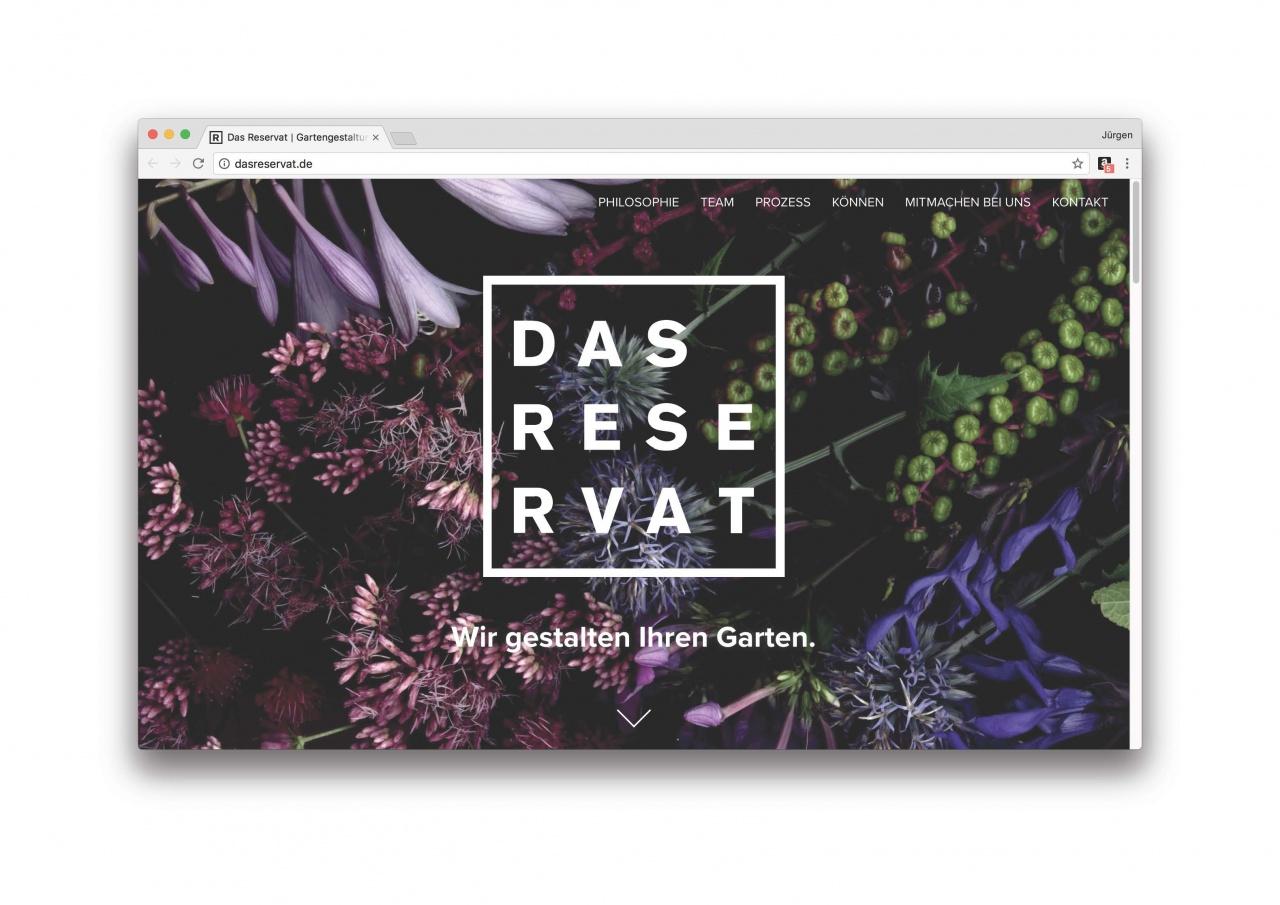 Das Reservat Homepage