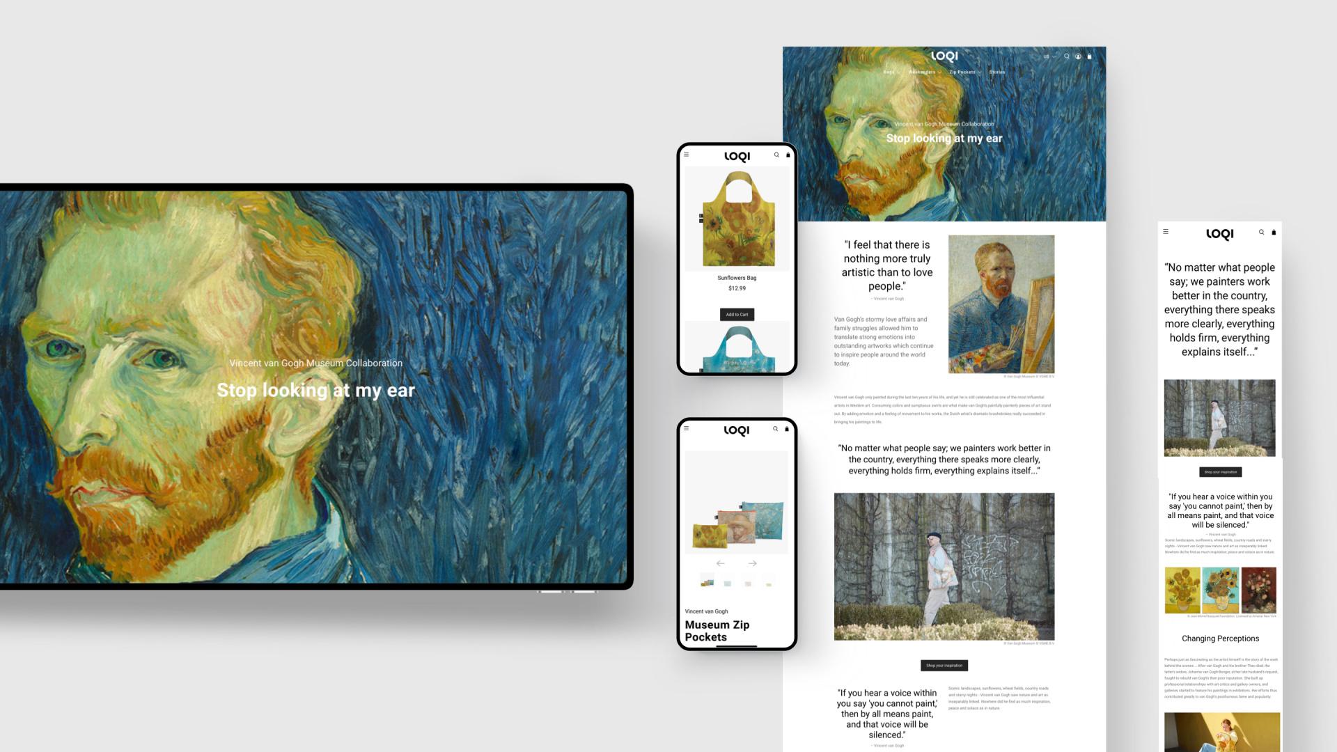 LOQI Vincent van Gogh
